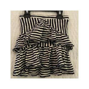 Zara Girls Tiered Knit Ruffle Skirt - Size 5/6